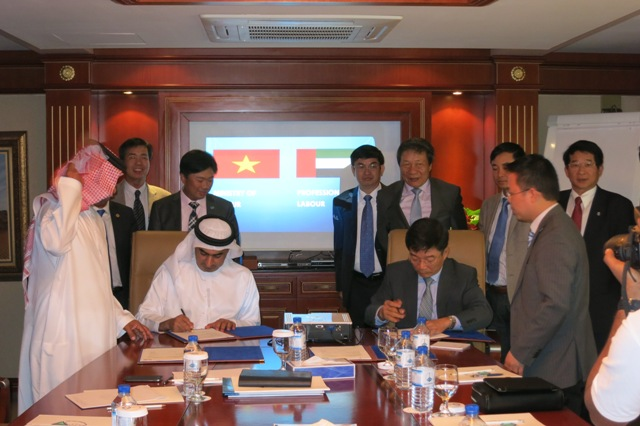 Đẩy mạnh hợp tác, phát triển thị trường lao động UAE
